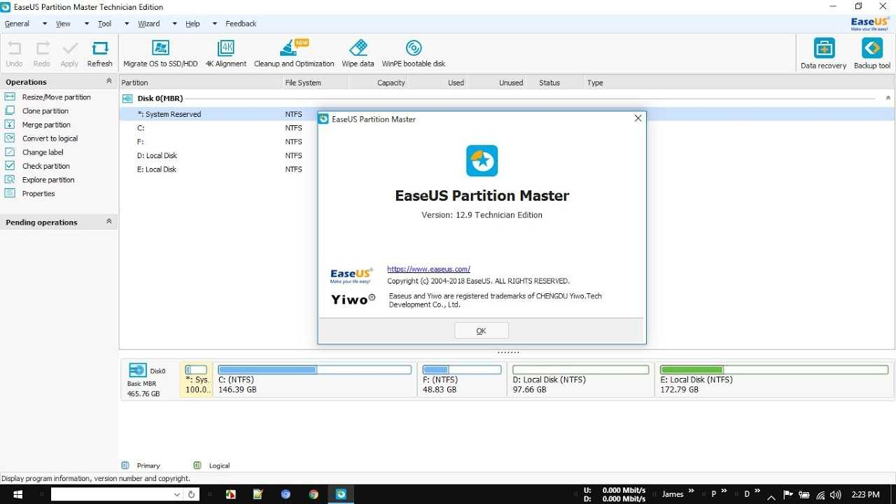 EaseUS Partition Master 12.9 Crack + Serial Key Free Download