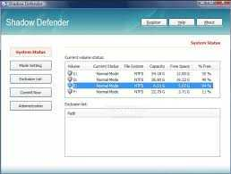 Shadow Defender 1.4.0.612 Crack + Lifetime Activation Key Free Download