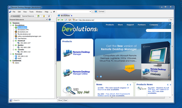 Remote Desktop Manager 13.7.0 Crack + Serial Key Free Download