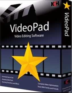 VideoPad Video Editor 8.18 Crack With Serial Key Full 2020