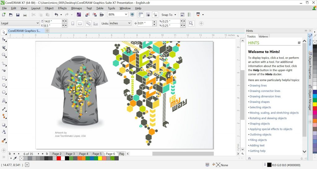 Corel draw x7 serial key and activation code