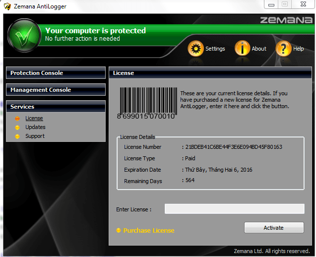 Zemana AntiLogger 2.74.204.664 Crack Full Activation Key 2020